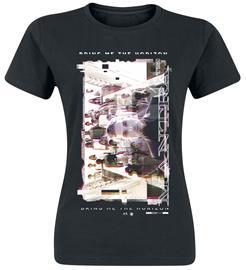 Bring Me The Horizon Mantra Cover Overlay Naisten T-paita musta
