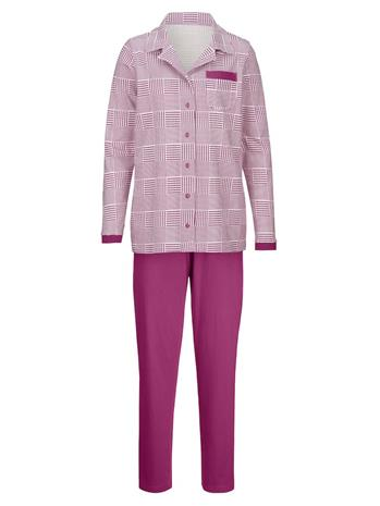 Napitettava pyjama Harmony syklaami/ecru96641/20X