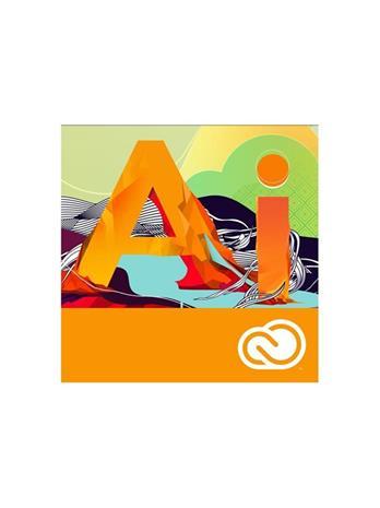 Adobe Illustrator CC for teams (1 vuosi, 1 käyttäjä, Win/Mac, suomi/englanti), ohjelmisto
