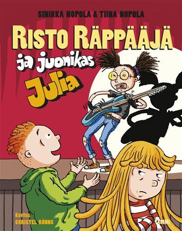 Risto Räppääjä ja juonikas Julia, kirja