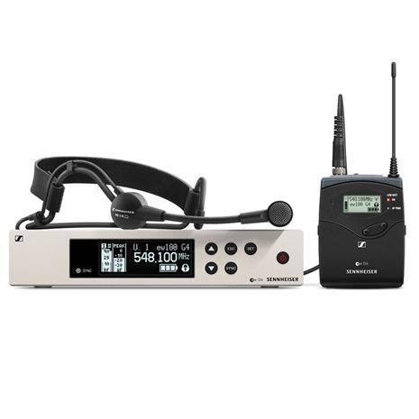 Sennheiser EW 100 G4-ME3-G, mikrofoni