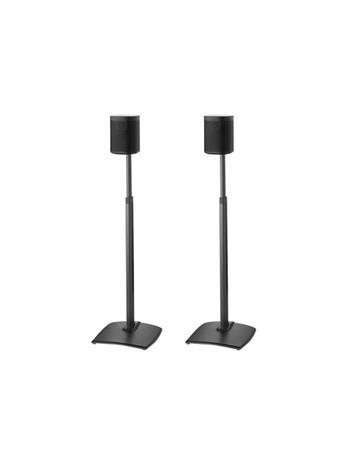 Sanus Wireless WSSA2-B2, säädettävät lattiajalustat kaiuttimille Sonos Play:1