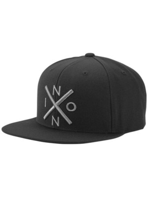 Nixon Exchange Snapback Cap black / dark gray Miehet