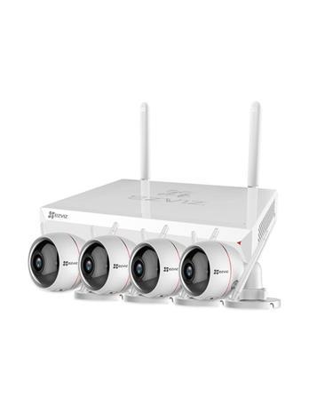 EZVIZ ezWireLess Kit - NVR + camera(s) - wireless wired