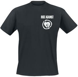 Rise Against Fight The Current T-paita musta