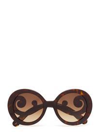 Prada Sunglasses Minimal Baroque Ruskea