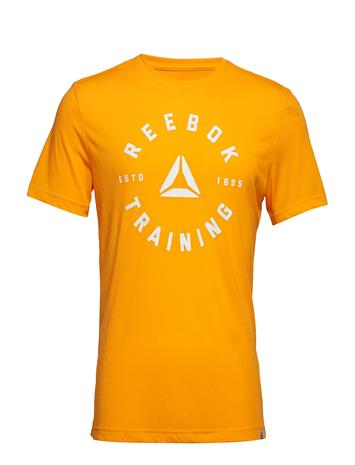 Reebok Gs Training Speedwick Tee Keltainen