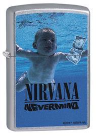 Nirvana Nevermind Zippo-bensasytytin standard
