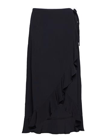 Samsä¸e & Samsä¸e Limon L Wrap Skirt 6515 Musta