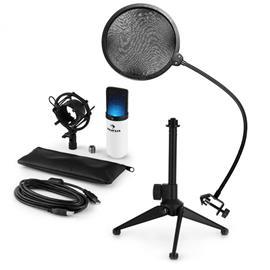 Auna MIC-900WH-LED USB V2, mikrofonisetti