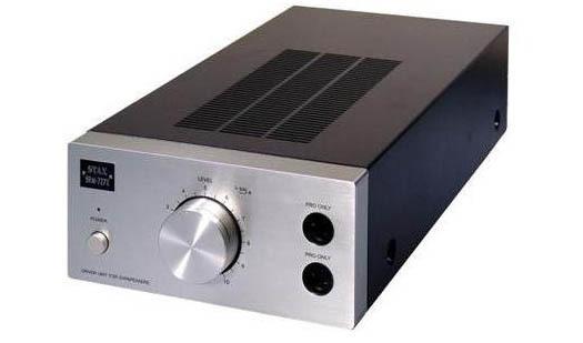 Stax SRM-727II, kuulokevahvistin