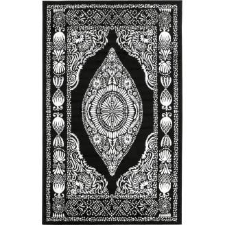 Vallila Viskoosimatto 68 x 110 cm Hula musta