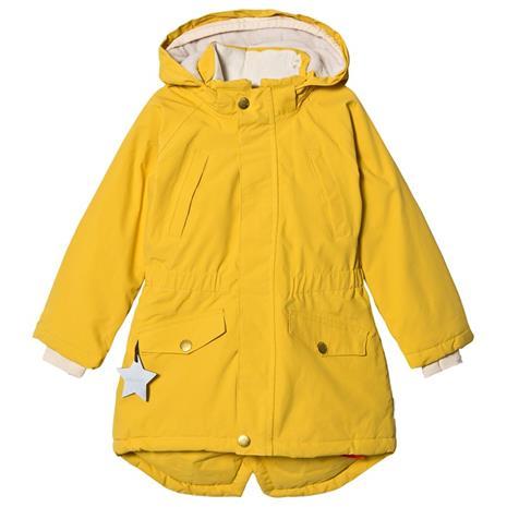 Vibse Jacket Bamboo Yellow110 cm (4-5 v)
