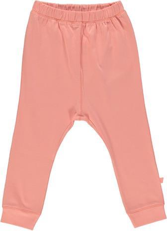 Smä¥folk - Organic Basic Jersey Pants - Coral