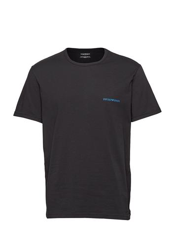 Emporio Armani Men'S Knit 2-Pack T-Shirt Musta