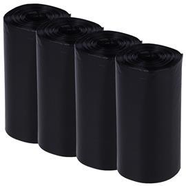 Koirankakkapussit, musta - 40 rullaa (800 pussia)