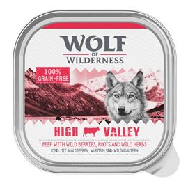 Wolf of Wilderness Adult 6 x 300 g - mix: nauta, kalkkuna, lammas, ankka