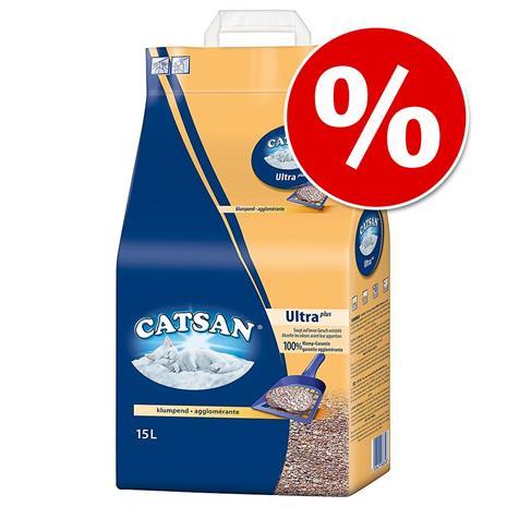 Catsan kissanhiekka erikoishintaan -15% alennusta! - 3,95 kg Catsan Smart Pack