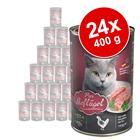 Leonardo All Meat -säästöpakkaus 24 x 400 g - siipikarja