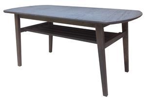 106 Lux korkeapainelaminaatti sohvapöytä + hylly
