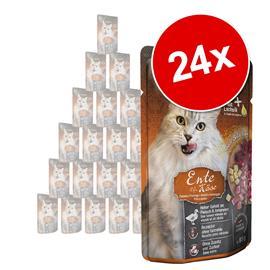 Leonardo Finest Selection Pouch -säästöpakkaus 24 x 85 g - kenguru & kissanminttu