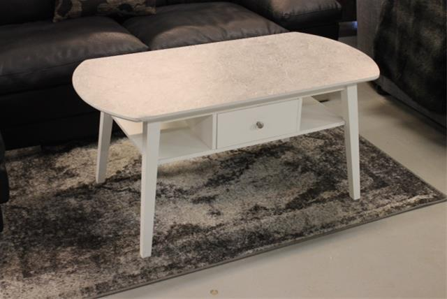 105 Castor korkeapainelaminaatti sohvapöytä + säilytyslaatikko