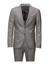 Lindbergh Plain Mens Suit-Blazer ? Harmaa