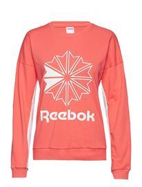 Reebok Classics Cl Ft Big Logo Crew Punainen
