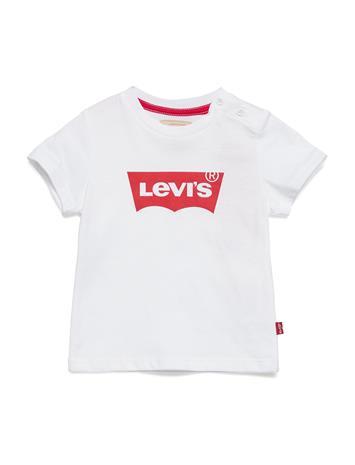 Levi's Ss Tee Bat Valkoinen