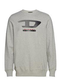 Diesel Men S-Gir-Y4 Sweat-Shirt Harmaa