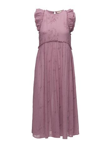 by Ti Mo Vintage Lace Midi Dress Vaaleanpunainen