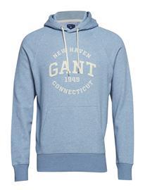 GANT O2. Gant Sweat Hoodie Sininen