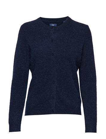 GANT O1. Woolen Hairy Cardigan Sininen