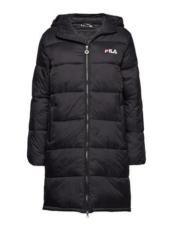FILA Women Zia Long Puff Jacket Musta