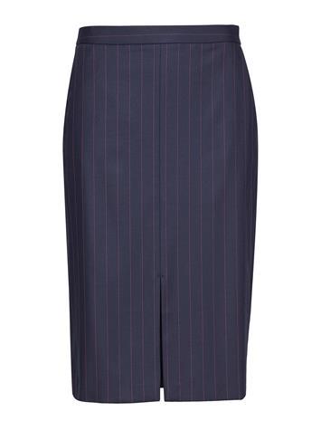 GANT G2.Washable Pinstripe Skirt Sininen