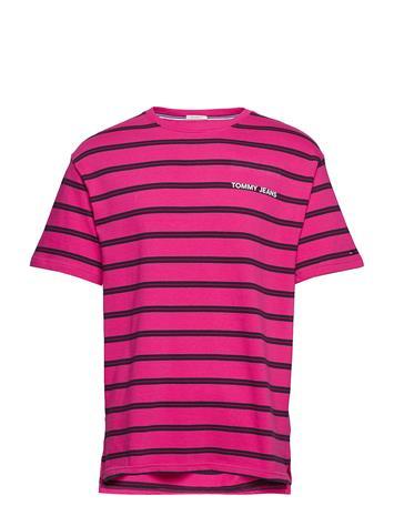 Tommy Jeans Tjm Multistripe Logo Vaaleanpunainen