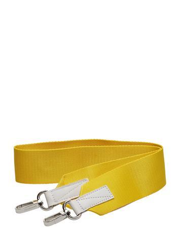 SANDQVIST Shoulder Strap Webbing Keltainen