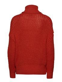 Mango Knitted Braided Sweater Punainen, Naisten kengät