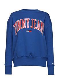 Tommy Jeans Tjw Clean Collegiate Sininen