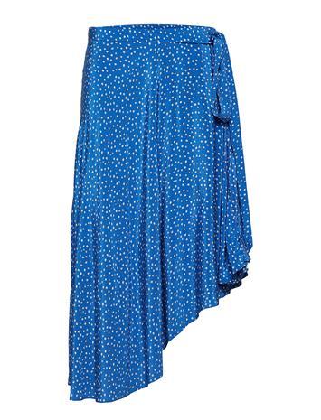 Samsä¸e & Samsä¸e Chila L Skirt Aop 10458 Sininen