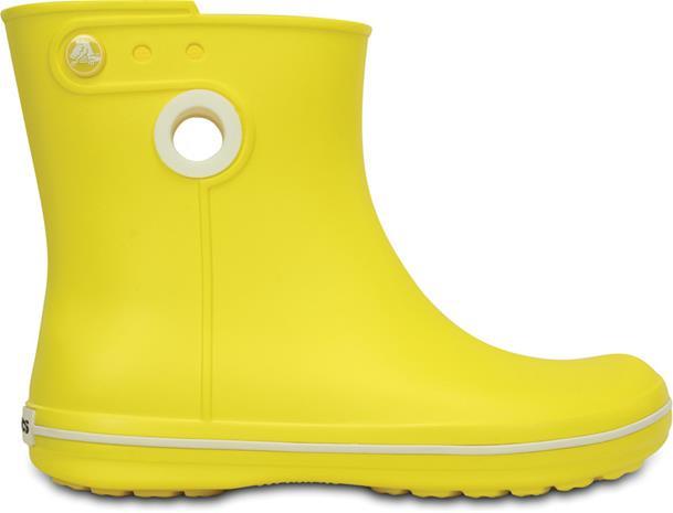 Crocs Jaunt Shorty Naiset Kumisaappaat , keltainen