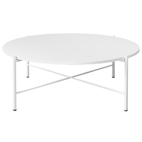 Hakola Round, matala sohvapöytä 90 cm