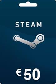 Steam lahjakortti 50 euroa
