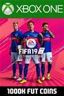 FIFA 19 - 1000k FUT Coins (Comfort Trade), Xbox One -peli