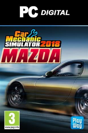 Car Mechanic Simulator 2018 - Mazda DLC, PC-peli