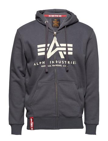 Alpha Industries Basic Zip Hoody Harmaa