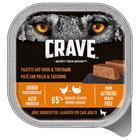 Crave Adult Patä© 300 g - 10 x 300 g lohi & kalkkuna