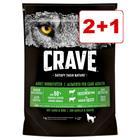 Crave Dog 1 kg: 2 + 1 kaupan päälle! - lammas & nauta