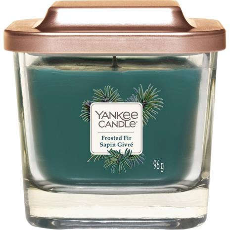 Yankee Candle Frosted Fir - Small Square Vessel 96 g