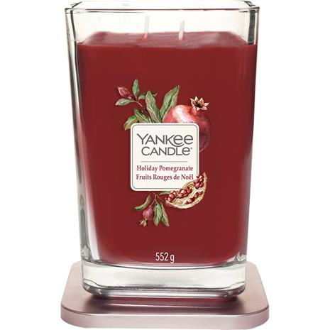 Yankee Candle Holiday Pomegranate - Large Square Vessel 553 g